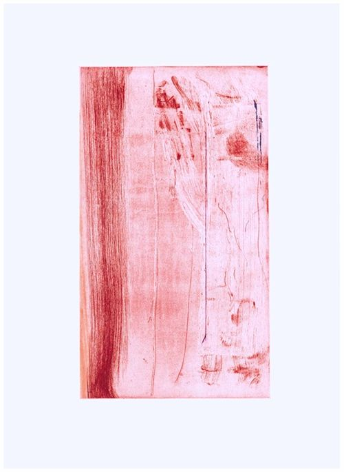 Etching Frankenthaler - Pompeii