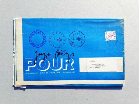 Screenprint Beuys - POOR