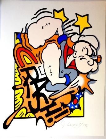 Screenprint Crash - Popeye