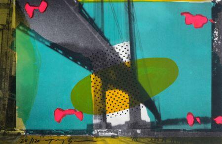 Lithograph Soulie - Portail d'Or