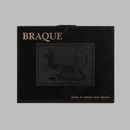 Lithograph Braque - Portfolio 12 Lithographies