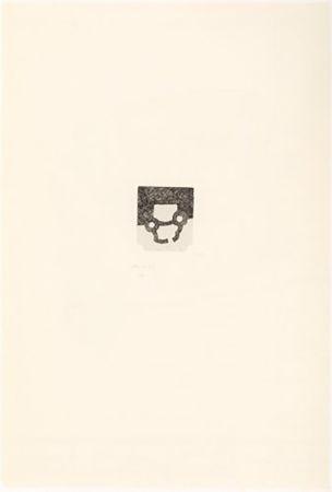 Etching Chillida - Portfolio 12th Anniversary of Galeria Joan Prats