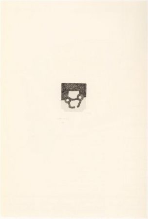 Etching Chillida - Portfolio 12th Anniversary of Galeria Joan Prats