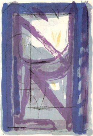 Lithograph Ràfols Casamada - Portfolio 12th Anniversary of Galeria Joan Prats