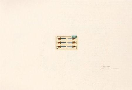 Lithograph Brossa - Portfolio 12th Anniversary of Galeria Joan Prats