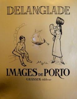 Screenprint Delanglade - PORTO