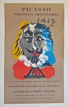 Lithograph Picasso - Portrais Imaginaires