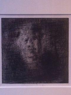 Etching Leroy  - Portrait