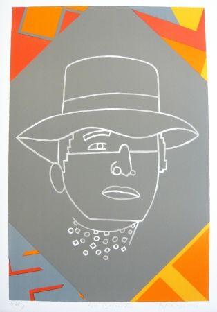 Lithograph Arroyo - Portrait
