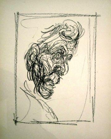 Lithograph Giacometti - Portrait