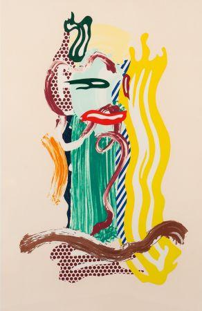 Lithograph Lichtenstein - Portrait