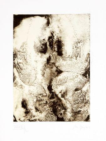 Lithograph Ferré - Portrait 5