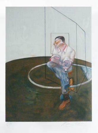 Lithograph Bacon - Portrait de John Edwards