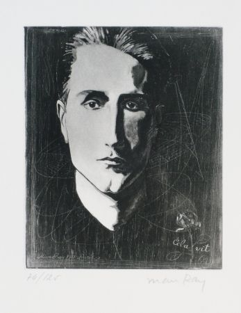 Etching And Aquatint Ray - Portrait de Marcel Duchamp