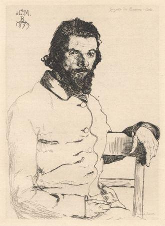 No Technical Bracquemond - Portrait de Meryon