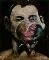 Etching And Aquatint Bacon - Portrait de Peter Beard