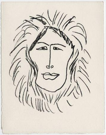 Lithograph Matisse - Portrait d'homme esquimau n° 1. 1947 (Pour Une Fête en Cimmérie)