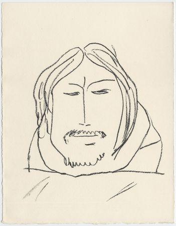 Lithograph Matisse - Portrait d'homme esquimau n° 6. 1947 (Pour Une Fête en Cimmérie)