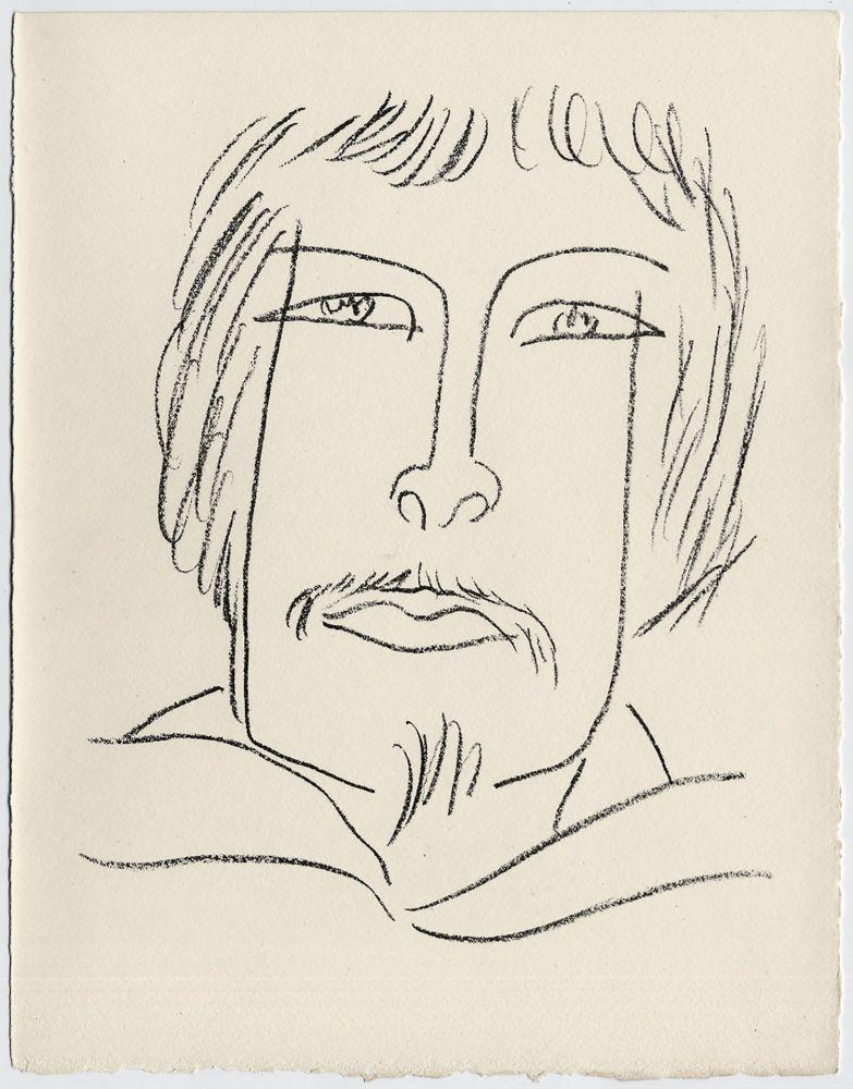 Lithograph Matisse - Portrait d'homme esquimau n° 7. 1947 (Pour Une Fête en Cimmérie)