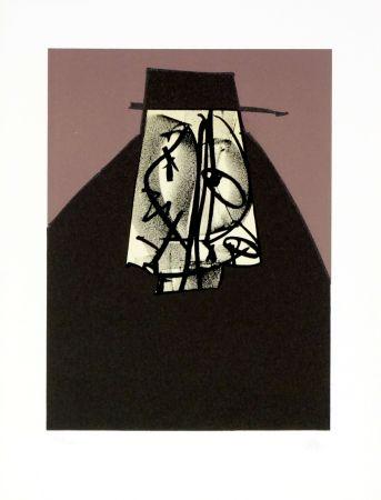 Lithograph Saura - Portrait I