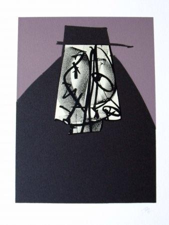 Lithograph Saura - Portrait II