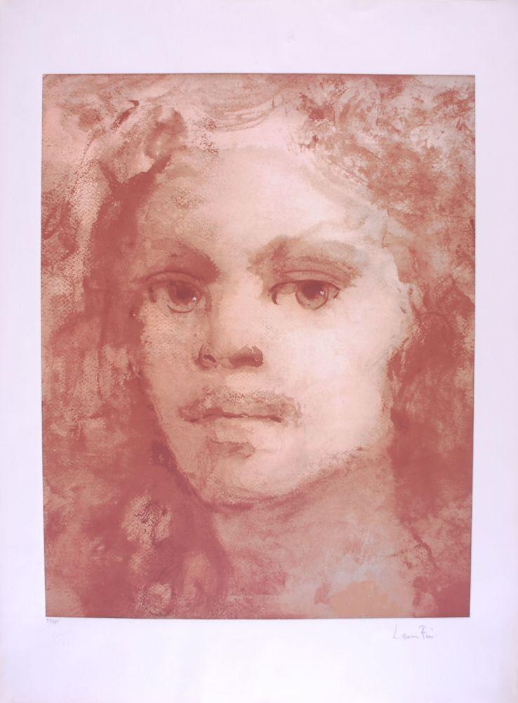 Lithograph Fini - Portrait imaginaire