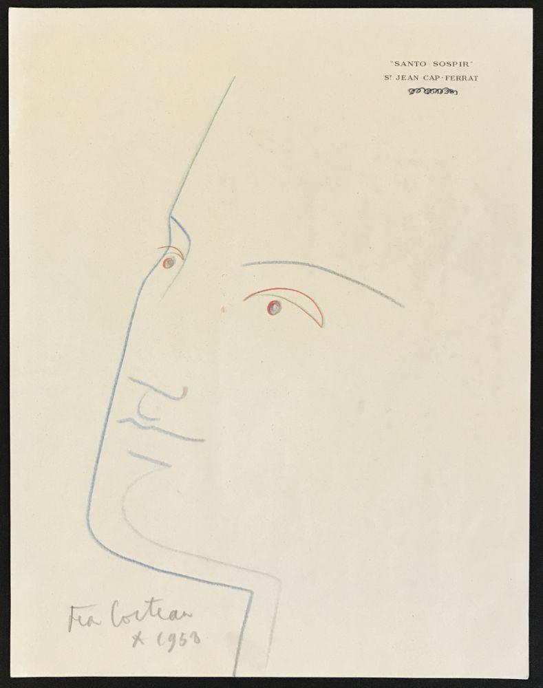 No Technical Cocteau - Portrait in Blue