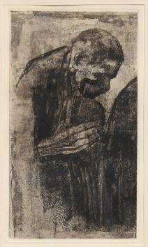 Etching Kollwitz - Portrait of a Man