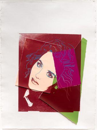 Screenprint Warhol - Portrait of Isabelle Adjani
