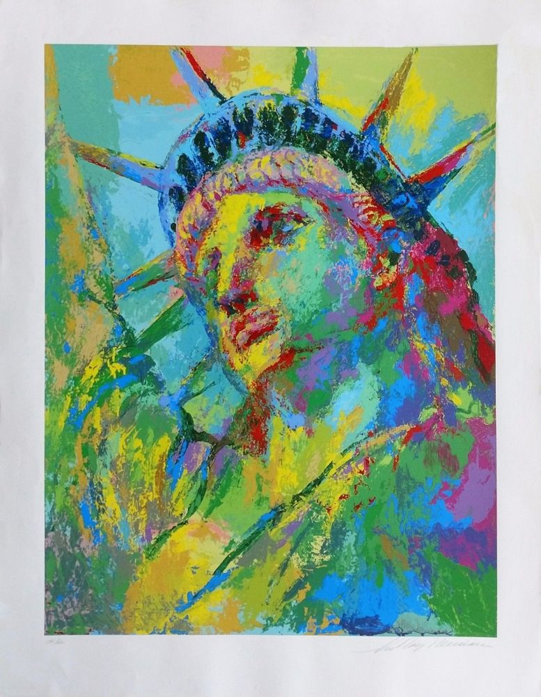 Screenprint Neiman - PORTRAIT OF LIBERTY