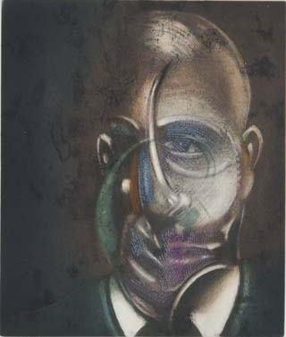 Etching And Aquatint Bacon - Portrait of Michel Leiris