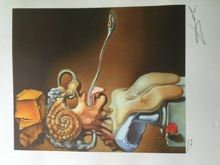 Lithograph Dali - PORTRAIT OF PICASSO