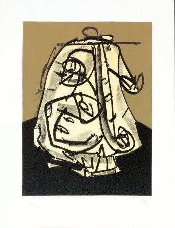 Lithograph Saura - Portrait V