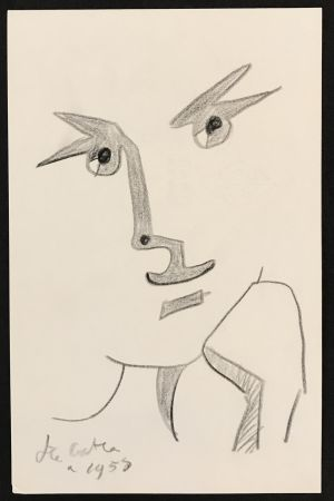 No Technical Cocteau - Portrait with Hand to Chin