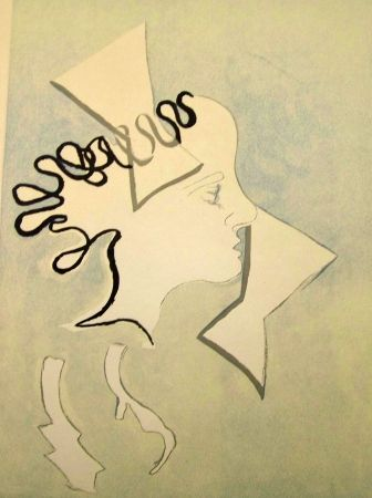 Lithograph Braque - Portraits