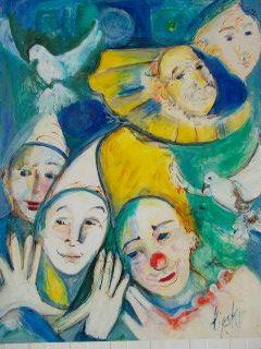 No Technical Lipsky - Portraits de Clowns