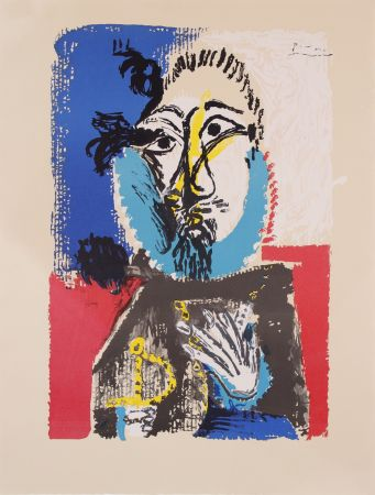 Lithograph Picasso - Portraits Imaginaires- Proof