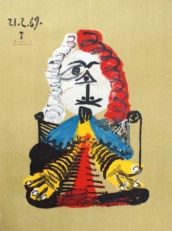 Lithograph Picasso - Portraits Imaginaires 21.2.69 I