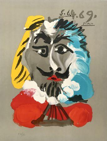 Lithograph Picasso - Portraits Imaginaires 5.6.4.69