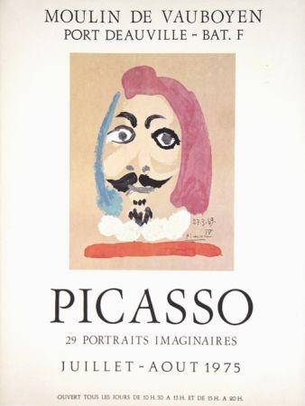 Offset Picasso - Portraits Imaginaires  Moulin de Vauboyen