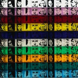 Screenprint Warhol - Portraits of the Artists