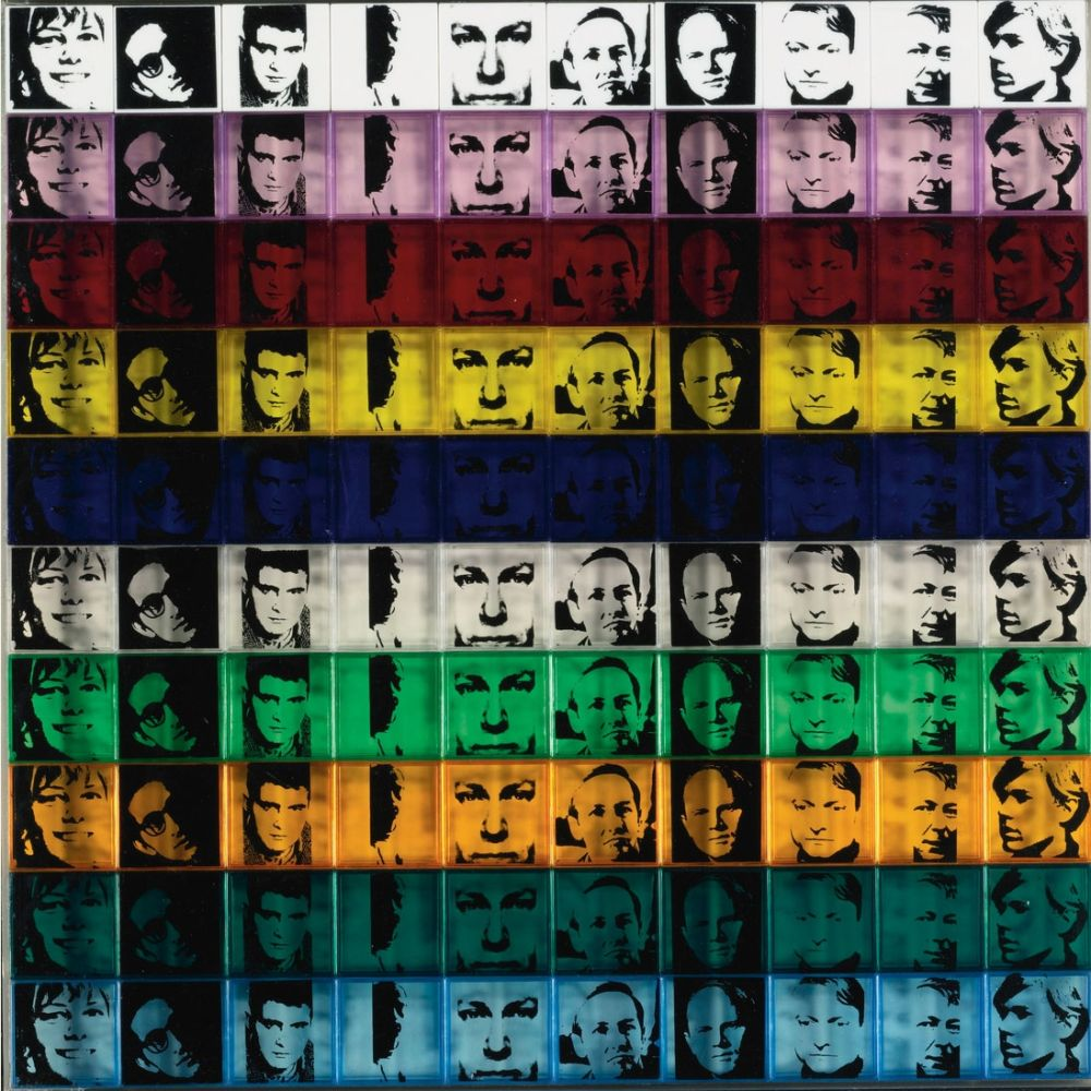 Screenprint Warhol - Portraits of the Artists (FS II.17)
