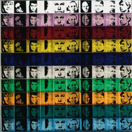 Screenprint Warhol - Portraits of the Artists (FS II.17)