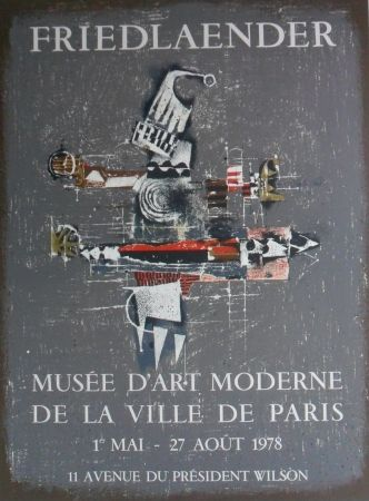 Lithograph Friedlaender - Poster de luxe edition signed