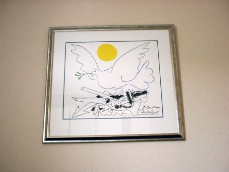 Lithograph Picasso - Poster For World Congress For General Disarmament And Peace