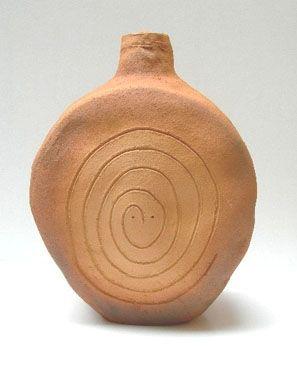 Ceramic Folon - Pottery - Snake - Serpent