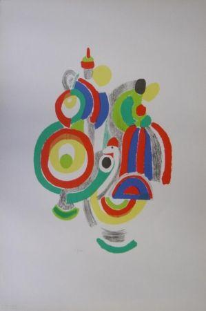 Lithograph Delaunay - Poupées portugaises
