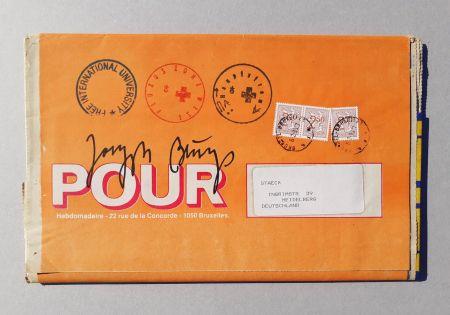 Screenprint Beuys - POUR