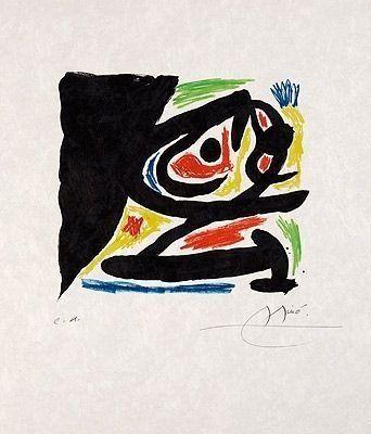 Lithograph Miró - Pour Berggruen
