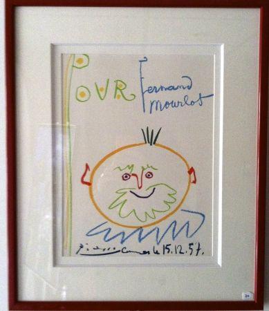 Lithograph Picasso - Pour Fernand Mourlot
